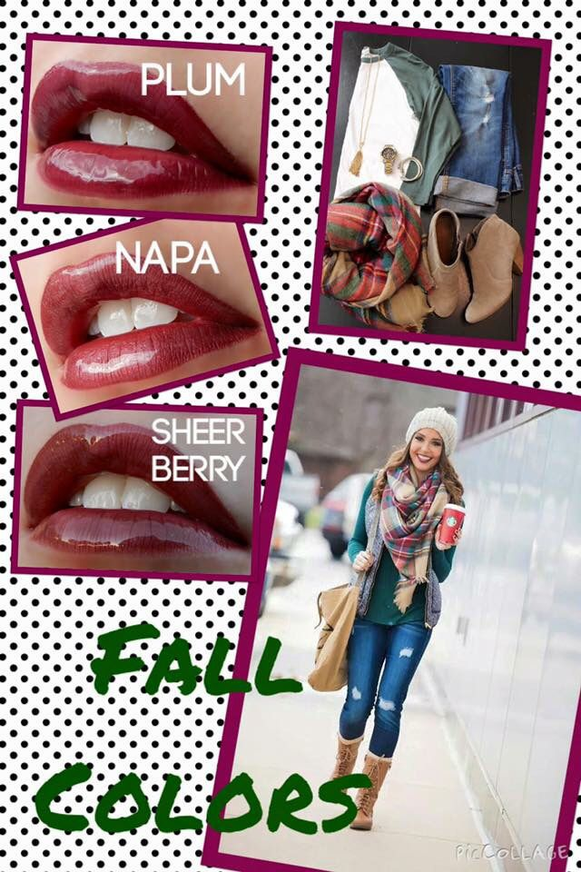 #LoveTheSkinYouAreIn has the #LipSense shades that's Fleek for Fall. Contact me to order