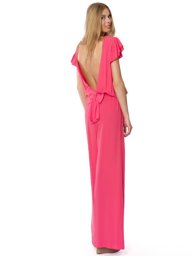 Regalinas open back jumpsuit