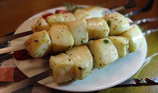 Рецепт сочного и нежного филе кальмара на гриле (Squid Fillets on the Grill)