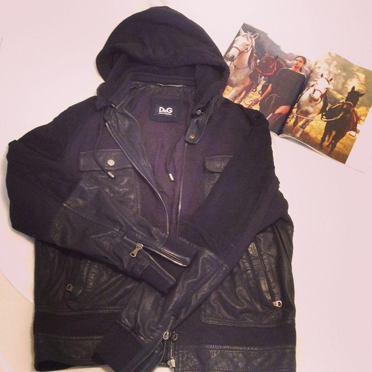 jacket D&G black,size 56