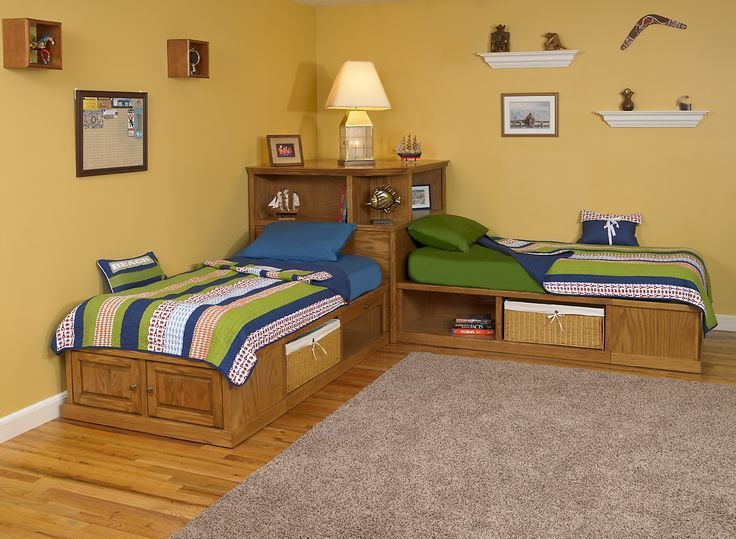 1000 Ideas About Corner Twin Beds On Pinterest