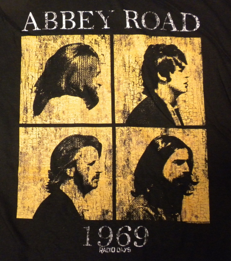 Beatles Radio Days Golden Slumbers T-Shirt