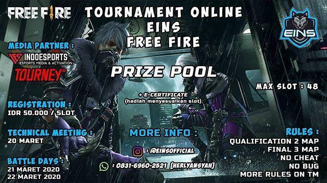 Tournament Online Eins Free Fire Gambar Wallpaper free fire tournament thumbnail