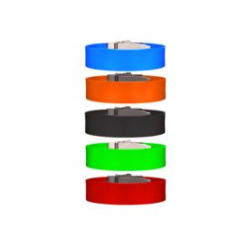 Band for wizID SMART (Band & Clasp Only), red