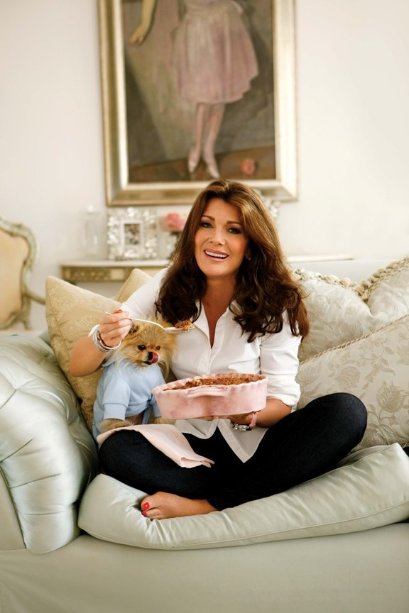 LISA VANDERPUMP - AND GIGGY ! WAHT A JOY TO MEET HER , GIGGY AND KEN HERE IN PALM SPRINGS !