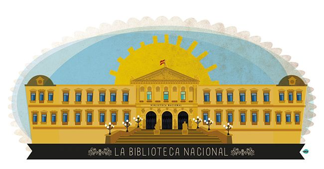 PASEO DE RECOLETOS, 20-22 - BIBLIOTECA NACIONAL