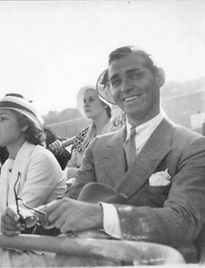 vintagegif-hottub: Clark Gable photographed... | ItsaGableThing