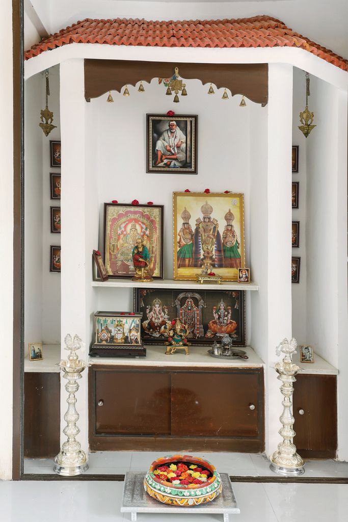 Pooja Room Designs For Flats: This Hyderabad Apartment Is A Delicious Blend Of Indian
