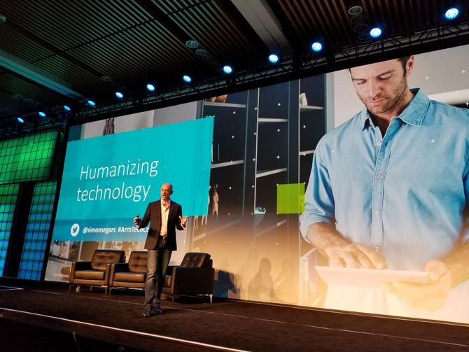 Cybersecurity is a mess mobile chip chief says. Simon Segars CEO of processor tech company ARM Holdings says security has to be fixed before we can benefit from AI and the Internet of Things.