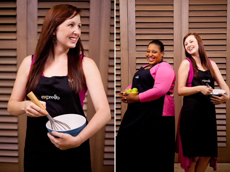 Katelyn Williams and Zola Nene Expresso Show Chefs