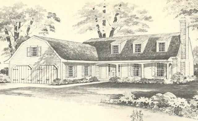 46 Best Vintage House Plans Images On Pinterest Vintage