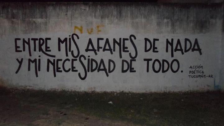 carteles # paredes # acción poética # español# www ...