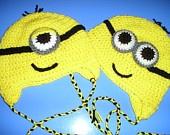 mhfjLittle Girls, Crochet Ideas, Crafts Ideas, Minions Hats, Crochet Hats, Future Kids, Beanie Hats, Minions Beanie, Crochet Thingy