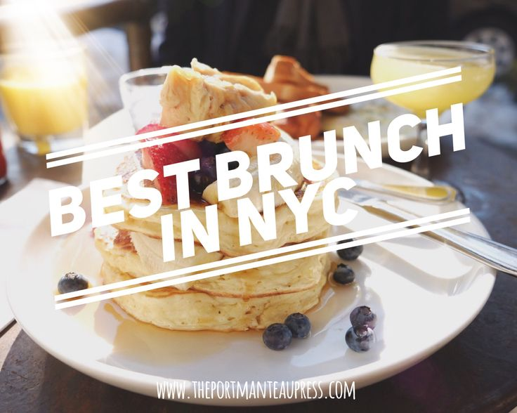 The definitive guide to the best brunch in New York.
