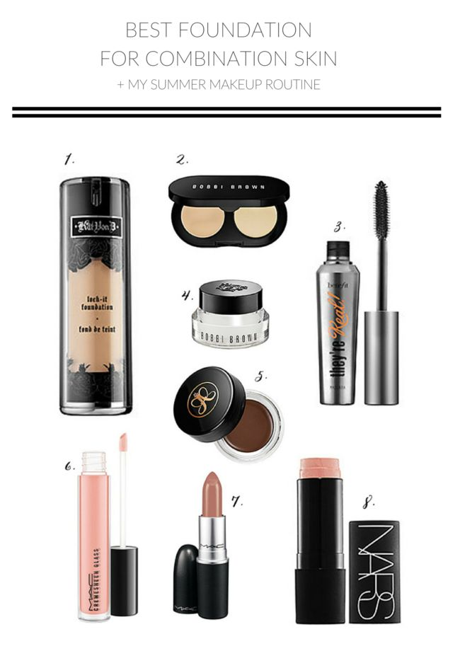 Wellesley & King - Best Foundation for Combination Skin + My Summer Beauty Routine - Wellesley & King