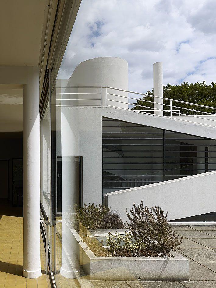 Le Corbusier Villa Savoye Interior