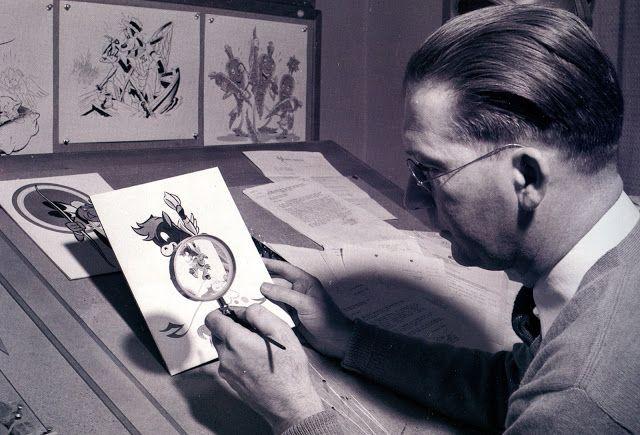 Filmic Light - Snow White Archive: Hank Porter Original 'Snow White' Drawings