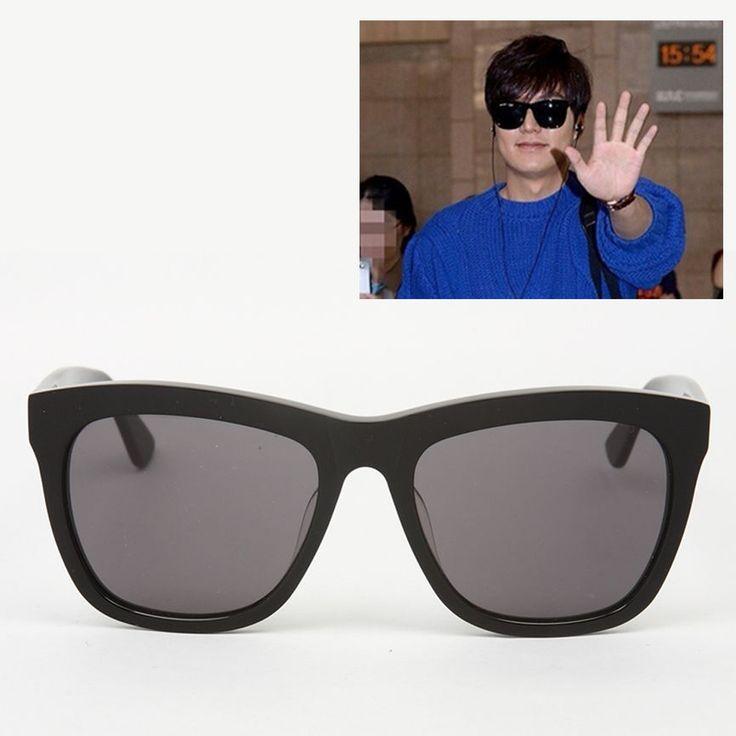 Lee Min Ho October Airport Fashion eyewear G.hopper Seychells 1 #Seychells1 #Round