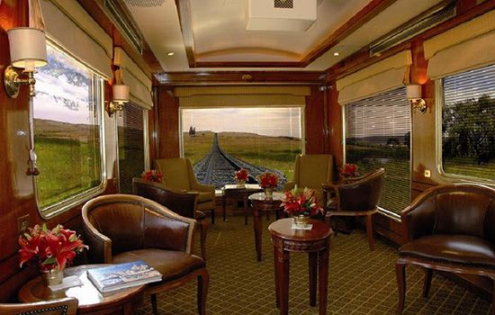 The Blue Train Now this obviously isn't a destination, but we couldn't have a list of romantic getaways in South Africa without including the legendary Blue Train. Expect: Old world luxury, fine wines and cuisine, exquisite suites, personal butlers and South Africa's magnificent scenery floating past while you are waited on hand and foot.  http://blog.suretravel.co.za/2013/02/romantic-destinations-in-south-africa.html