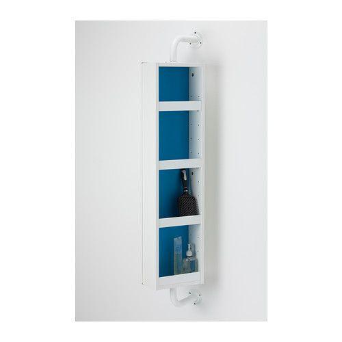 Ikea Miroir Etageres : Klampen miroir avec rangement ikea etagères bord