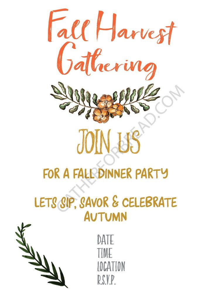 Fall Harvest Invite Free Printable For Fall Harvest Party Gathering Print And Use For Yourself Fall Harvest Party Fall Party Invitations Harvest Party