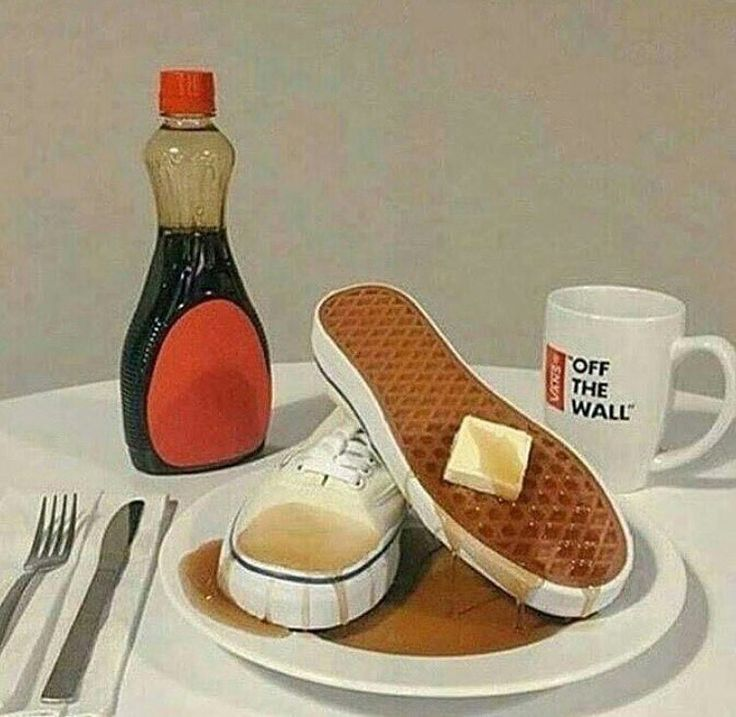 """""""Mom I want actual breakfast"""" """"Shut up Michael it's for the aesthetic"""""""