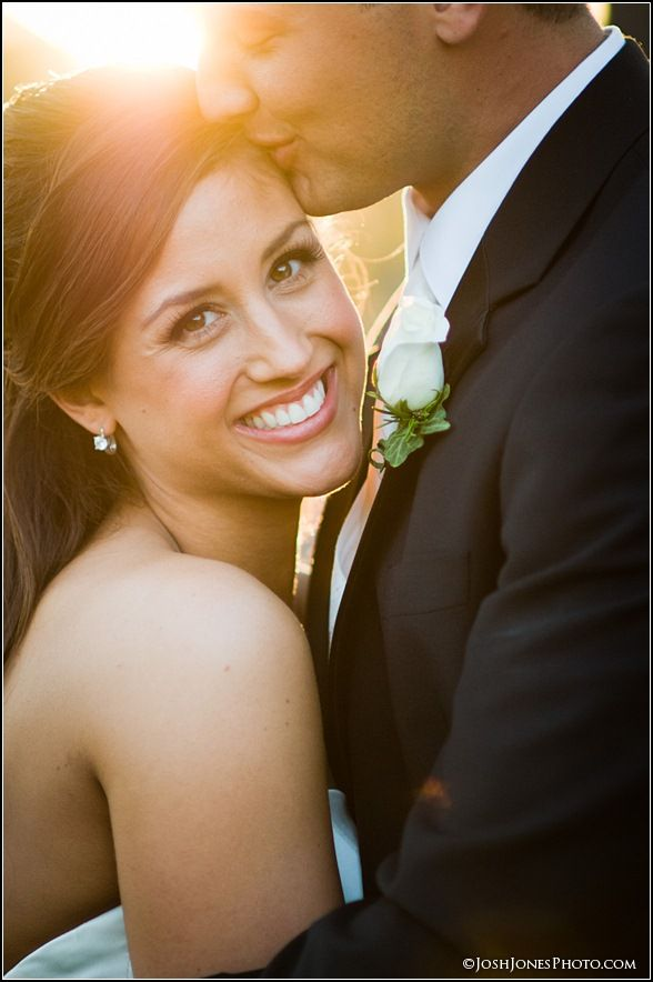 Love the pose, super cute! May have to do a picture like this for my wedding. :)