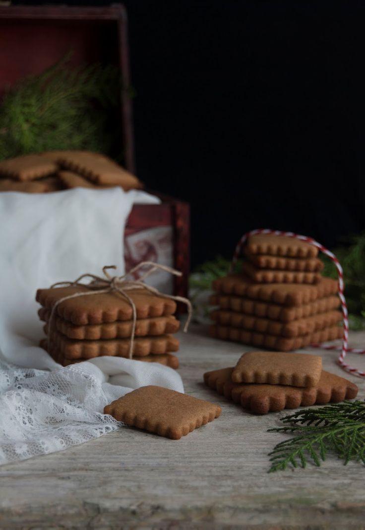 La asaltante de dulces: Galletas Speculoos de espelta/ Spelta Speculoos cookies