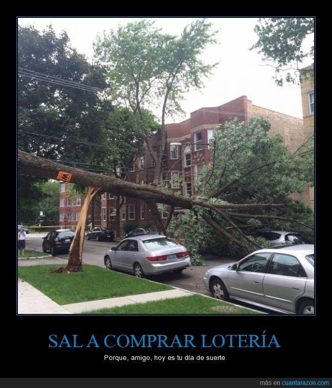 SAL A COMPRAR LOTERÍA