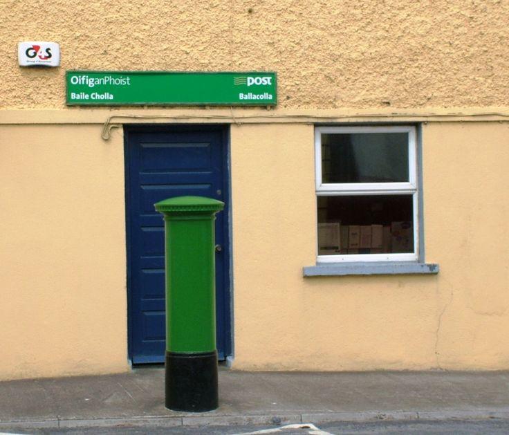 Post Office, Ballacolla, Co. Laois