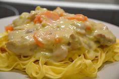 Blanquette de poulet aux carottes poireau et vin blanc, voila une recette facile et simple pour vaire votre principal à la maison.