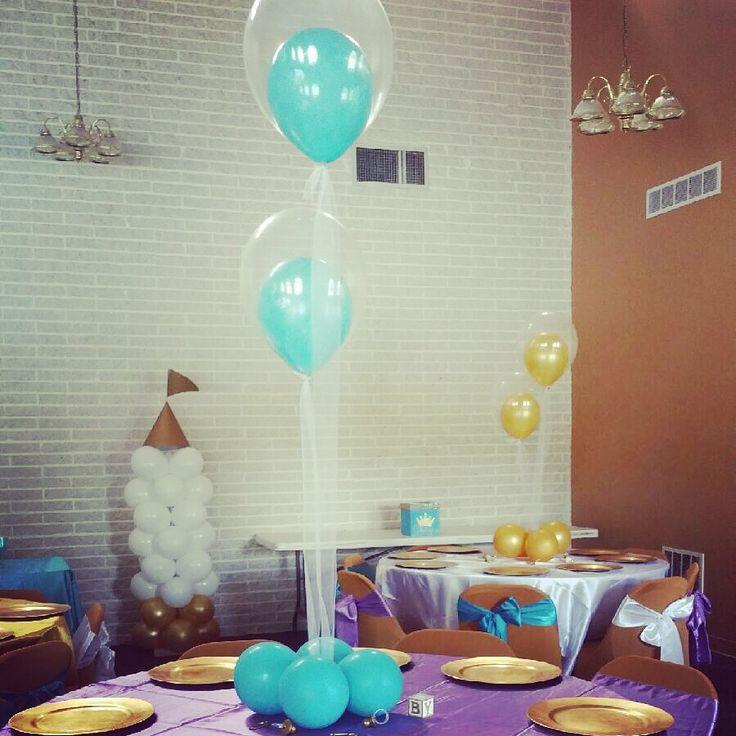 Royal Baby shower balloons