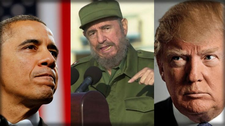 TRUMP WAITS UNTIL AFTER OBAMA SPEAKS ON CASTRO, THEN SHOWS WHAT A REAL L...