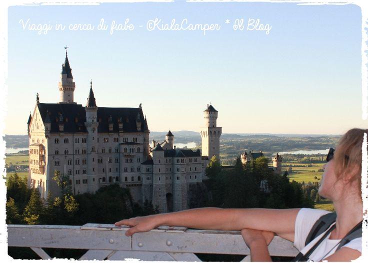 Neuschwanstein, Baviera, Germania #fairytale #fairytravel #location #sleepingbeauty
