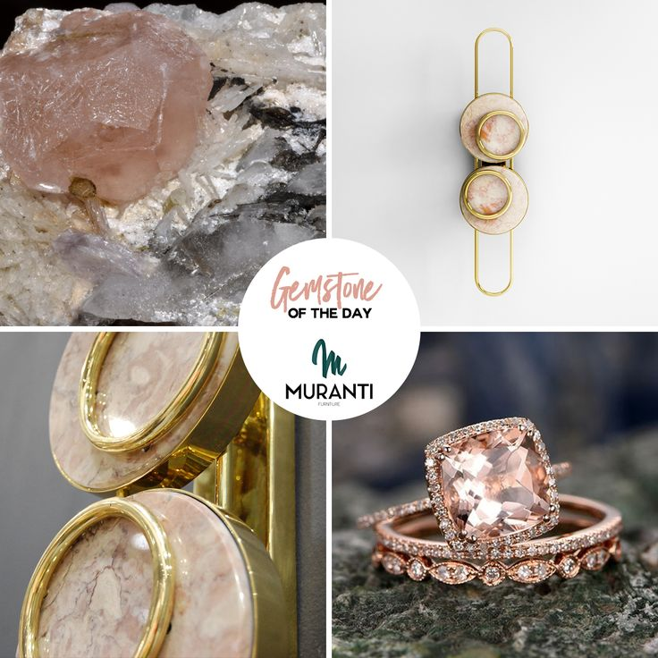 The Gemstone of the day is MORGANITE the first pale rays of sunrise that swells the heart and warms the soul (www.muranti.com) #gemstoneoftheday #muranti #luxury #furniture #gemstone #color #morganite #walllamp #lamp #inspiration #interiordesign #homedecor #design #interiorismo #interieur #интерьер #colortrends #trends #pantone #hpmkt @highpointmarket @designonhpmkt #designonhighpoint #hpmktss #bloggerstour