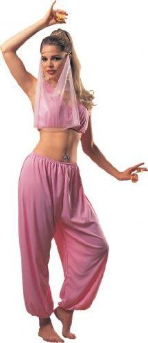 I really love the color pink and this light pink belly dancer costume is one of my favorite Womens Egyptian Halloween Costumes for Halloween 2016. This is a great idea for us women who like to look sexy but still dress up beautifully for Halloween. Adult Arabian Dancer Costume, Ladies Standard (Up to Dress size 12)
