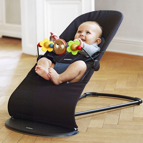 This Baby Bjorn bouncer is so soft and comfortable. It's also so lightweight, I can carry it from room to room without breaking a sweat. The activity bar is extra, but it's really well-made and beautiful.