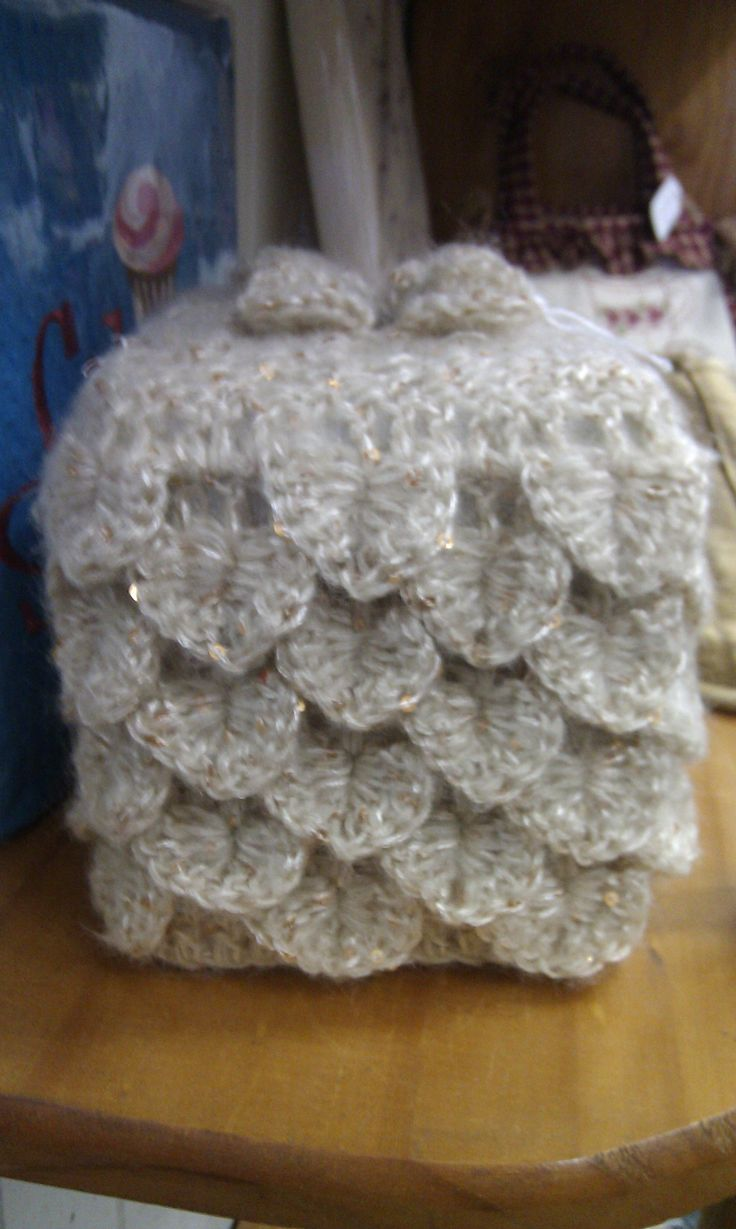 Can you believe this beautiful object is a tissue box? ! (Sept 2013)