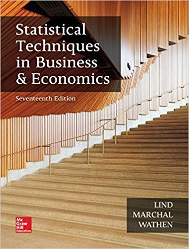 Solution Manual Statistical Techniques in Business and Economics