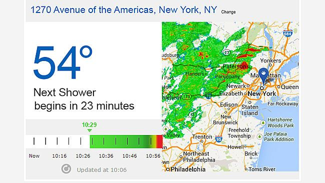 AccuWeather Unveils Minute by Minute Forecasting Capability with SkyMotion!