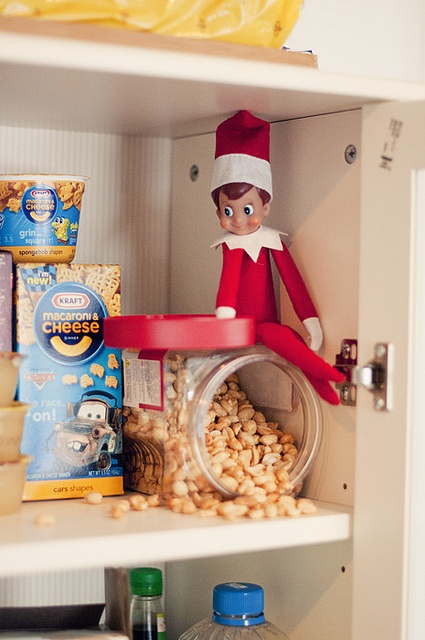 Elf On A Shelf Pantry It S Beginning To Look A Lot