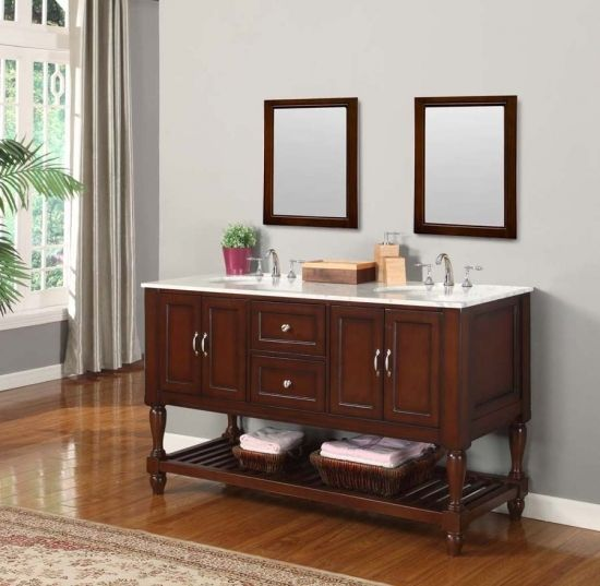 Attractive 60 Inch Bathroom Vanity Desirable