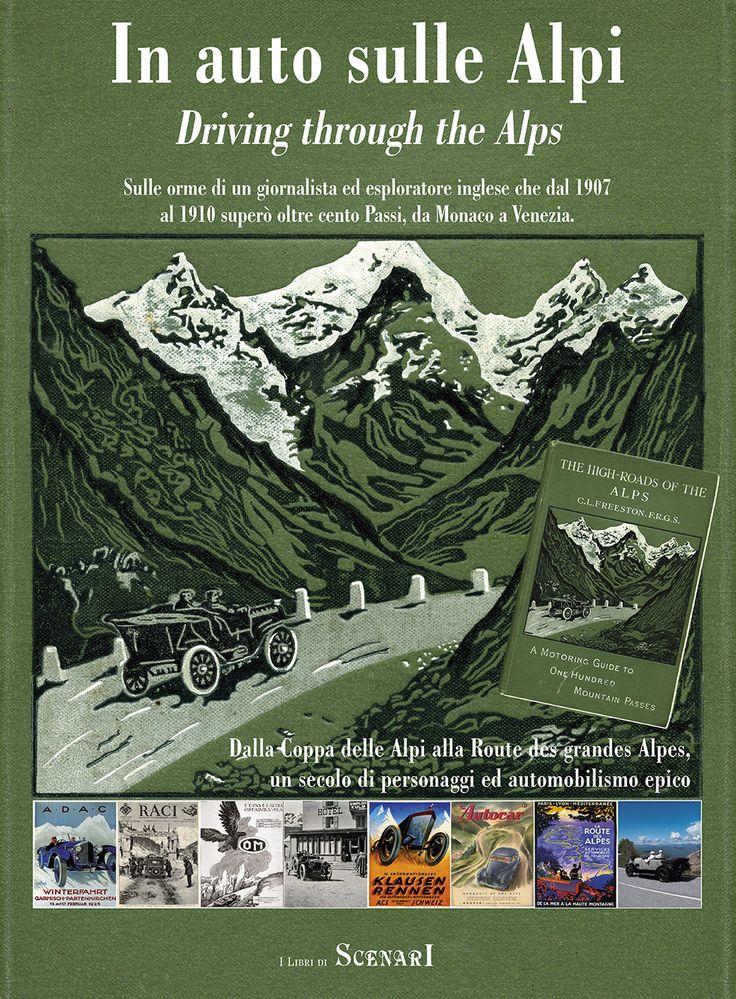 la copertina del libro, che uscirà a dicembre, con la storia della Coppa delle Alpi, della Grand route des Alpes, Alpenfahrt, Alpine trials, la Susa-Moncenisio del 1902, la Arona-Stresa-Arona, prima corsa in Italia, del 1897, ecc...