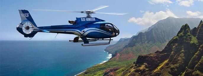 Blue Hawaiian Kauai Helicopter Tours in Lihue, Kauai HI