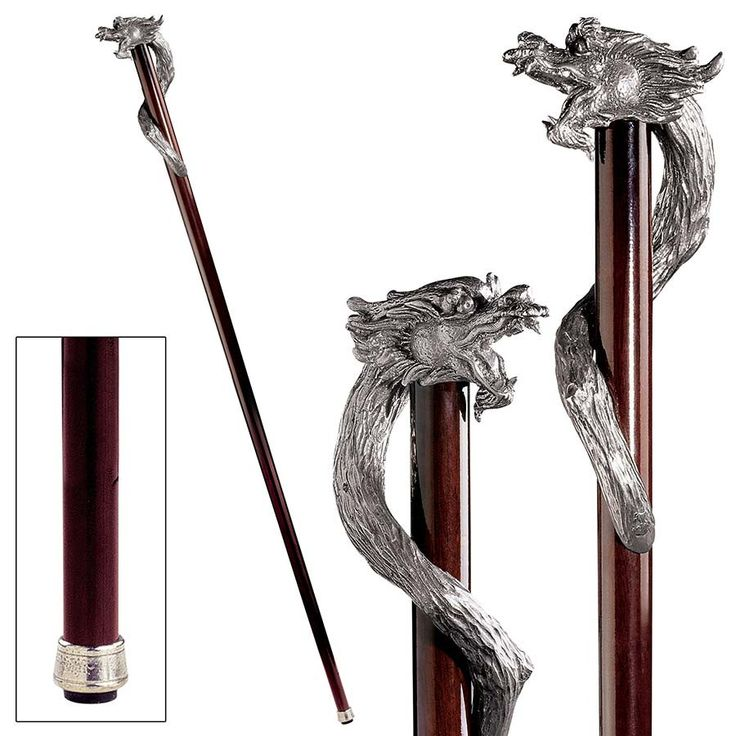 Park Avenue Collection Staff Of St George Walking Stick