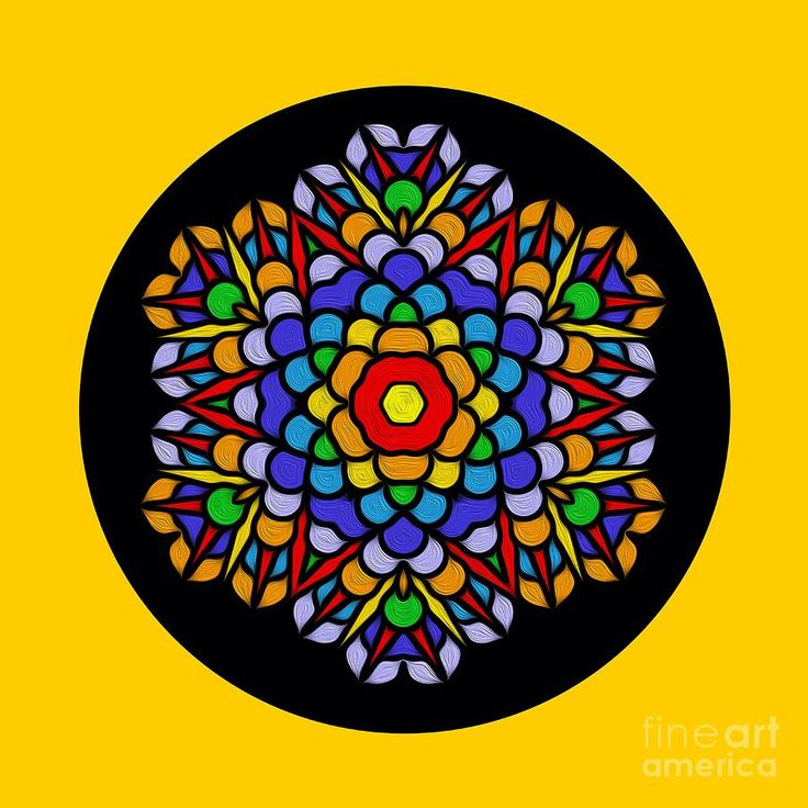 #Rainbow #Mandala by #Kaye_Menner #Photography Quality Prints Cards Products at: http://kaye-menner.pixels.com/featured/rainbow-mandala-by-kaye-menner-kaye-menner.html