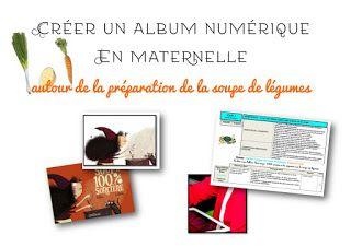 Créer un album numérique en maternelle