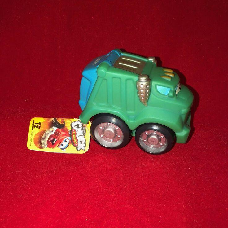Tonka Chuck and Friends Rowdy the Garbage Truck  #Tonka