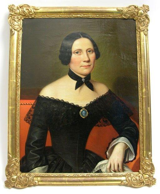 Portrait of Amalia Widell, 1837 | Varsinais-Suomen museot (Musketti) | Finna.fi