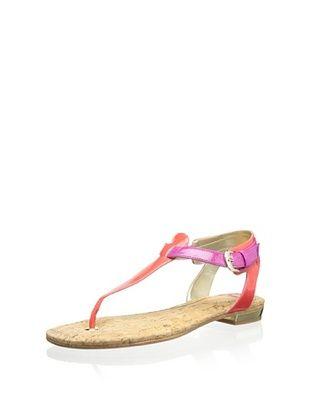 68% OFF Elaine Turner Women's Mara Thong Sandal (Pink/Coral)
